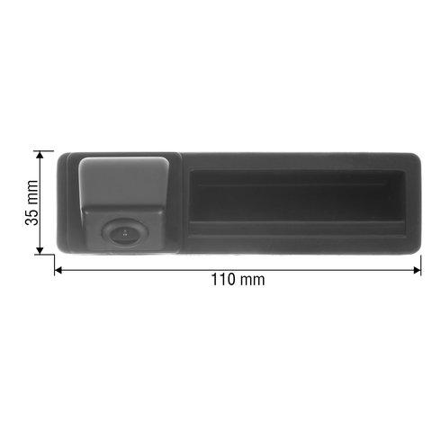 Камера заднего вида в ручку багажника для Audi A3, A4L, A5, A6L, Q7, S5 Превью 1