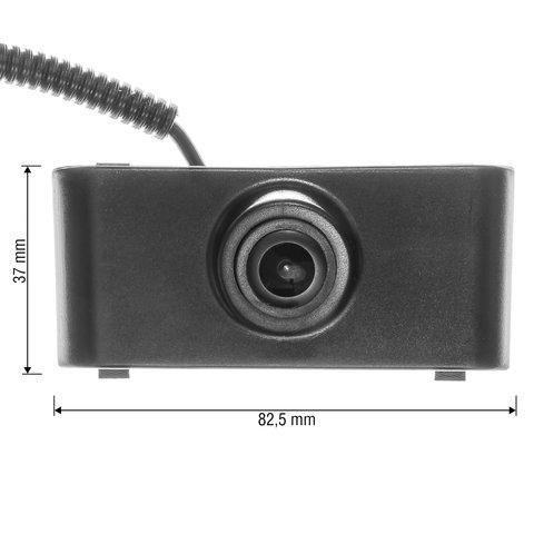 Камера переднего вида для Audi Q5 с 2011-2012 г.в. Превью 7