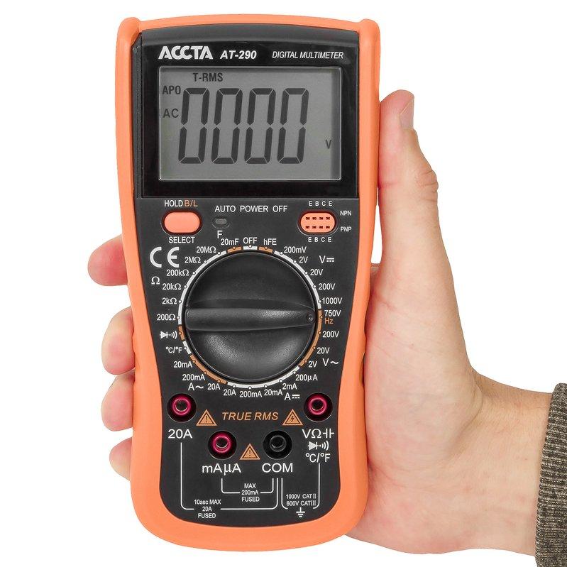 Цифровий мультиметр Accta AT-290 Зображення 2