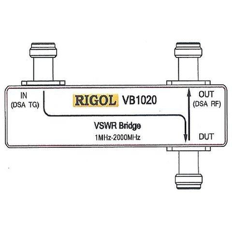 Міст для вимірювання КСХН Rigol VB1020 Прев'ю 1