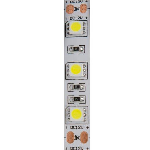 Світлодіодна стрічка SMD5050 (біла, 300 світлодіодів, 12 В DC, 5 м, IP65) Прев'ю 1