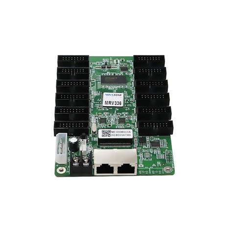 Приемная карта сигнала LED-дисплея Novastar MRV336 (256×256, 12×HUB75E) Прев'ю 2