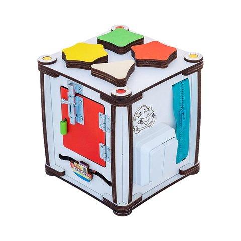 Бізіборд GoodPlay Кубик для розвитку з підсвіткою (17×17×18) Прев'ю 3
