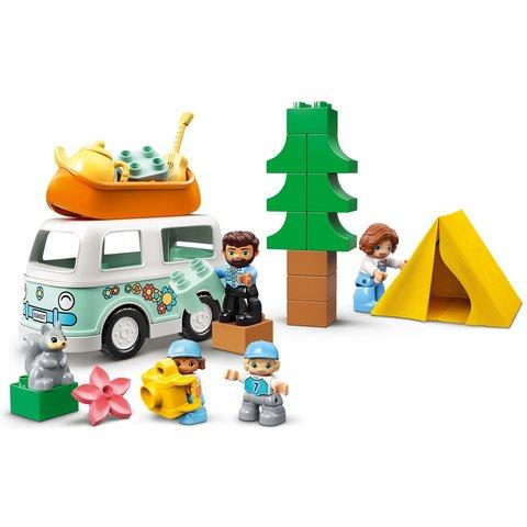 Конструктор LEGO DUPLO Семейное приключение на микроавтобусе 10946 Превью 9